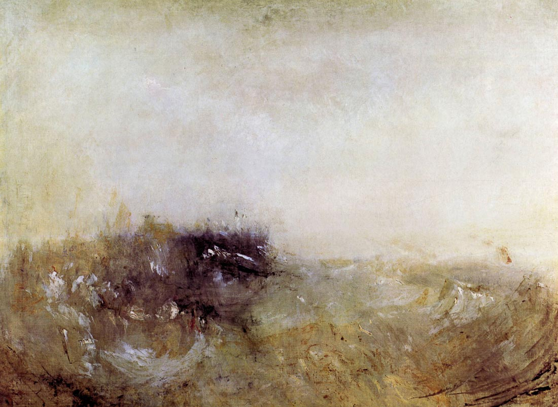 Rough Seas - Joseph Mallord Turner