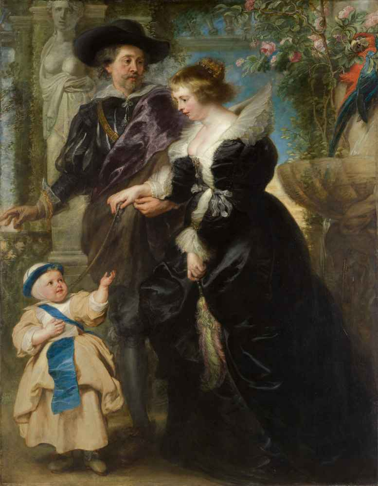 Rubens, Helena Fourment (1614–1673), and Their Son Frans (1633–1678) -