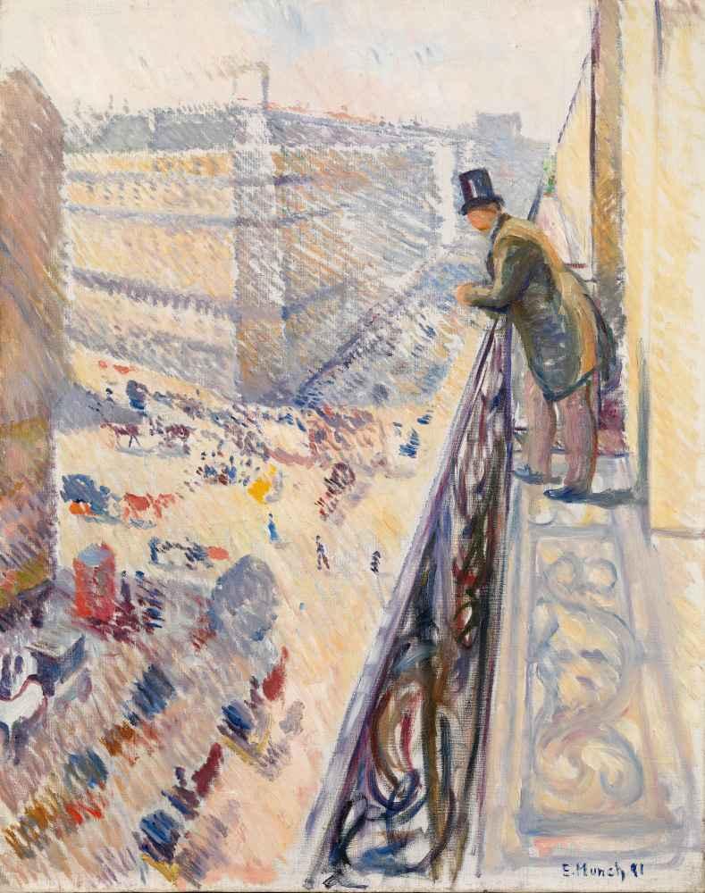 Rue Lafayette - Edward Munch