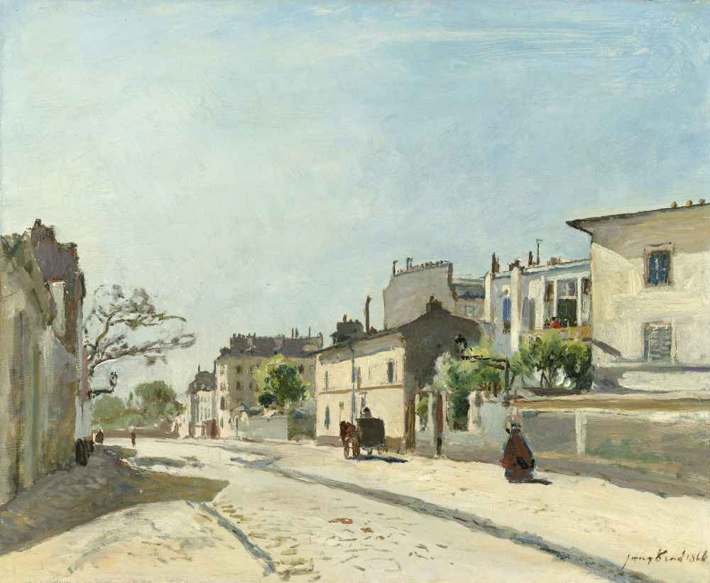 Rue Nôtre-Dame, Paris - Johan Barthold Jongkind
