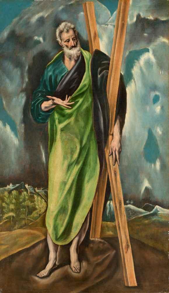 Saint Andrew - El Greco