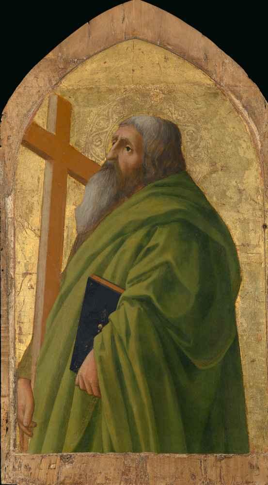 Saint Andrew - Masaccio