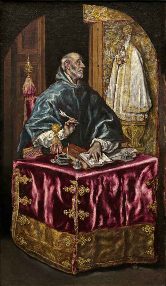 Saint Ildefonso - El Greco