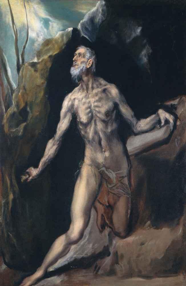 Saint Jerome - El Greco