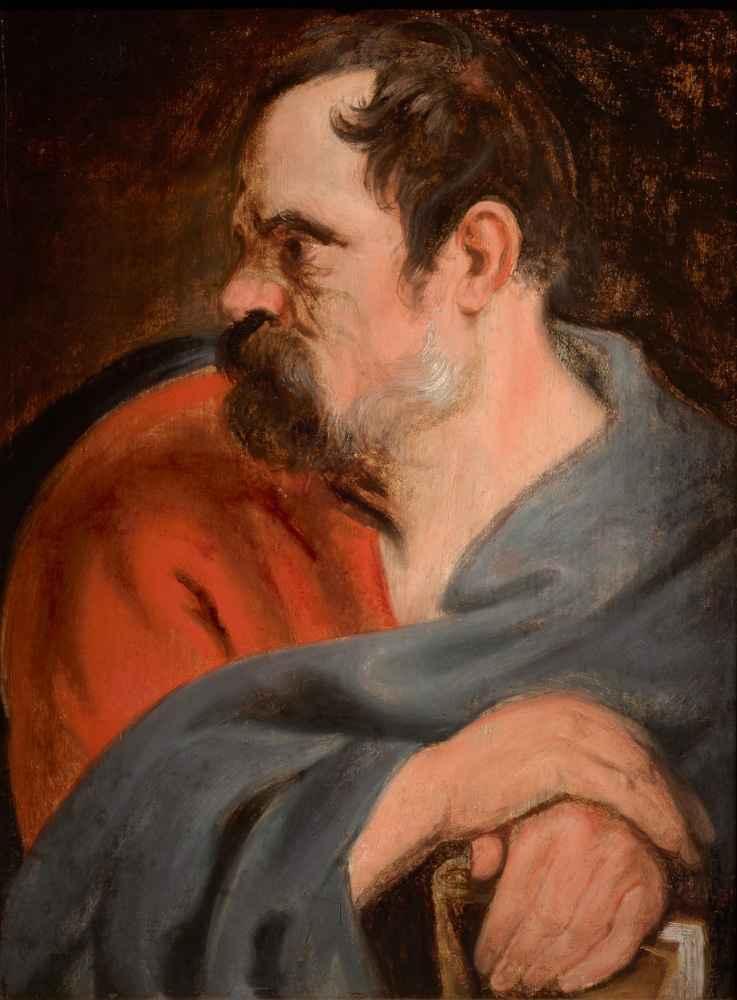 Saint Matthias - Antoon van Dyck