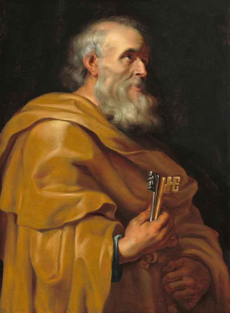 Saint Peter - Peter Paul Rubens