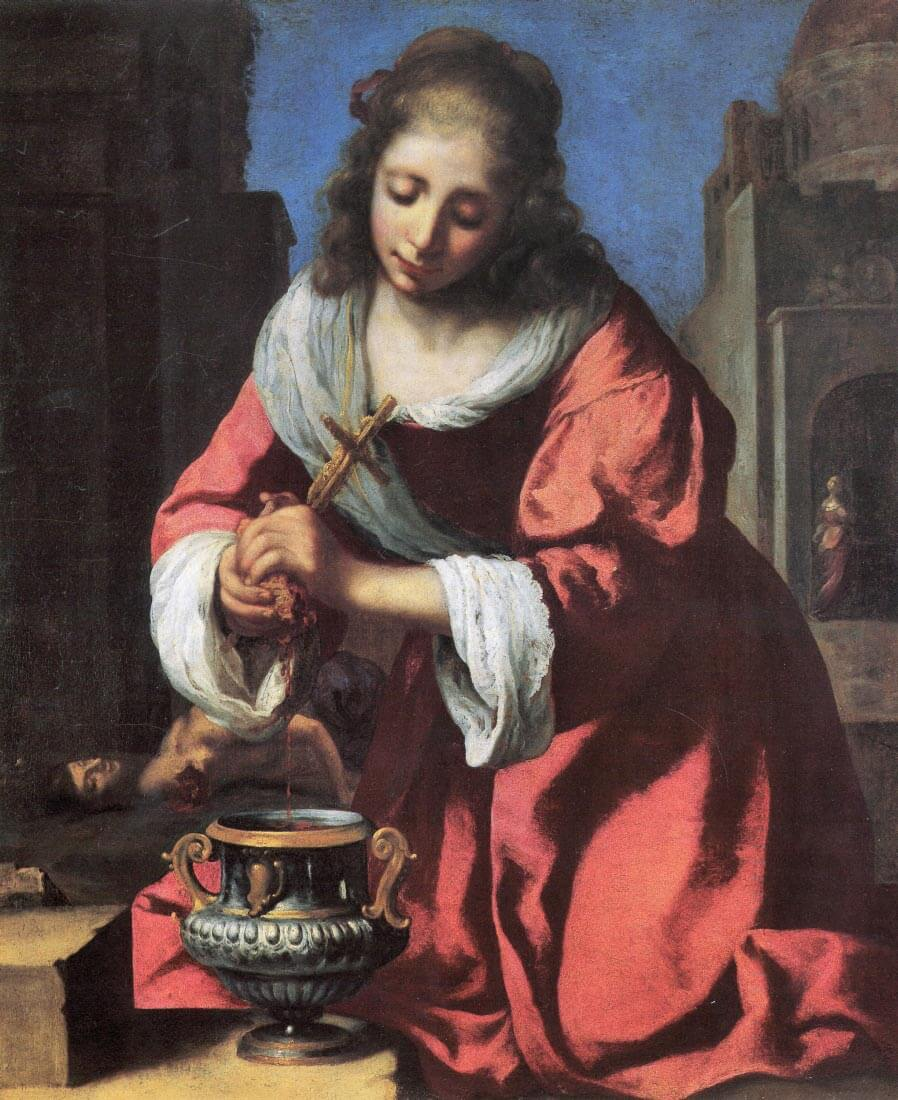 Saint Praxedis - Vermeer