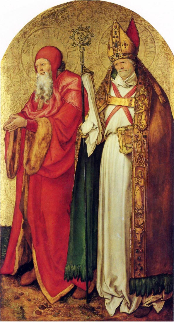 Saints Simeon and Lazarus - Durer