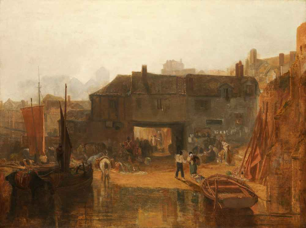 Saltash with the Water Ferry, Cornwall - Joseph Mallord William Turner