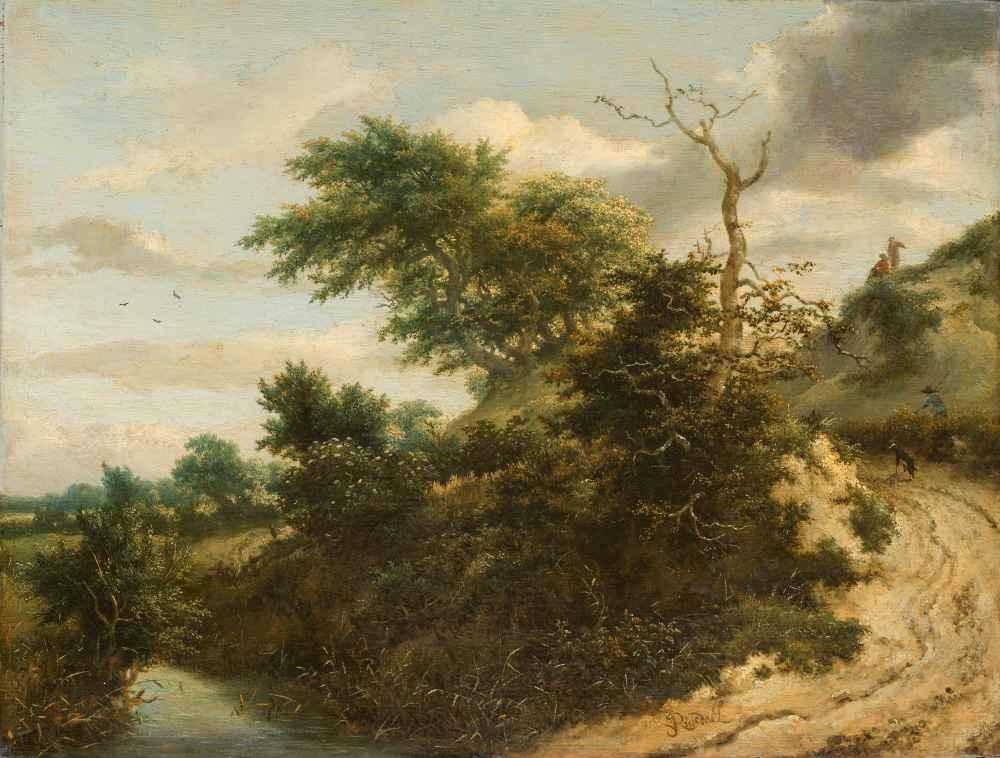 Sandy Track in the Dunes - Jacob van Ruisdael