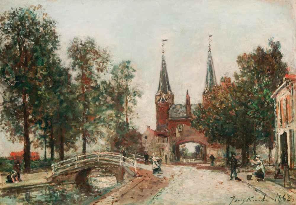 Scene at Delft - Johan Barthold Jongkind