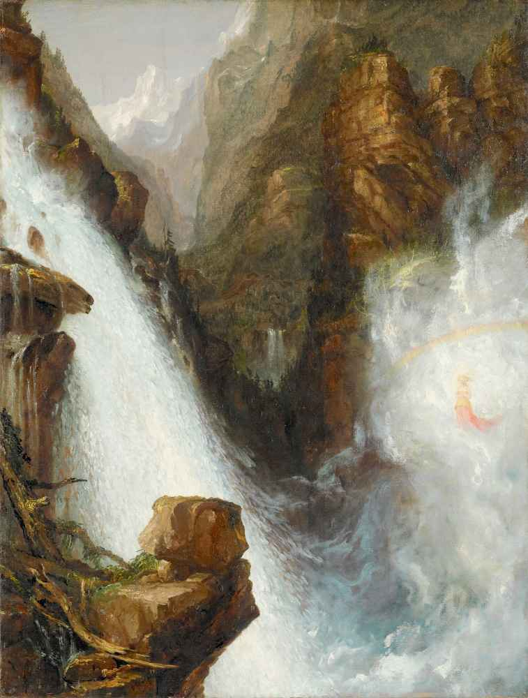 Scene from Byron's Manfred - Thomas Cole