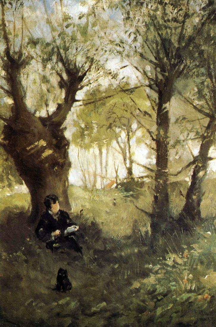 Scene in Auvers - Morisot
