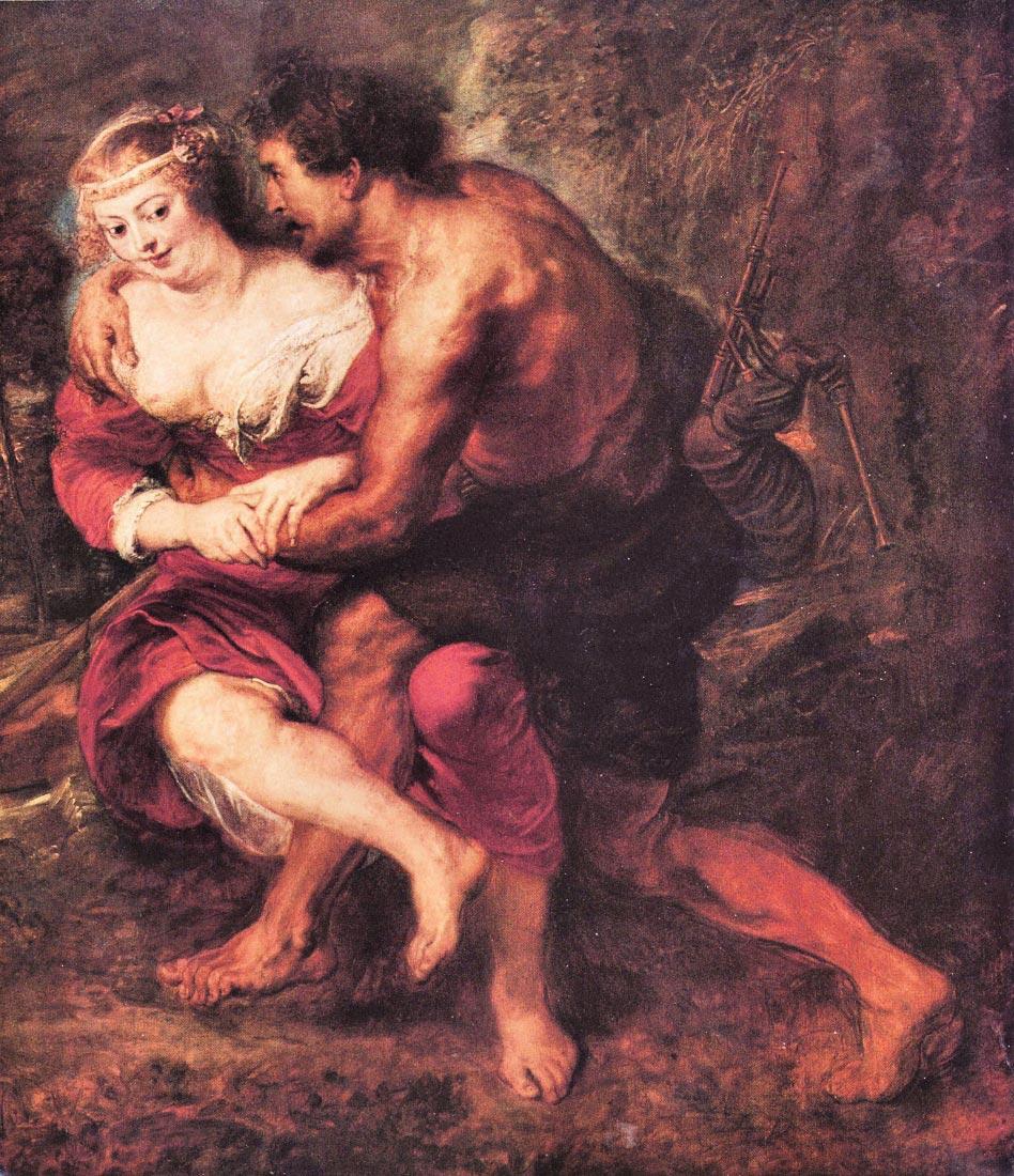 Schafer scene - Rubens