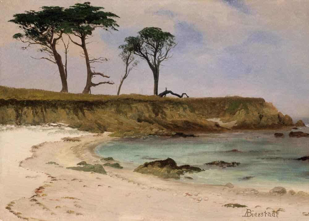 Sea Cove - Albert Bierstadt