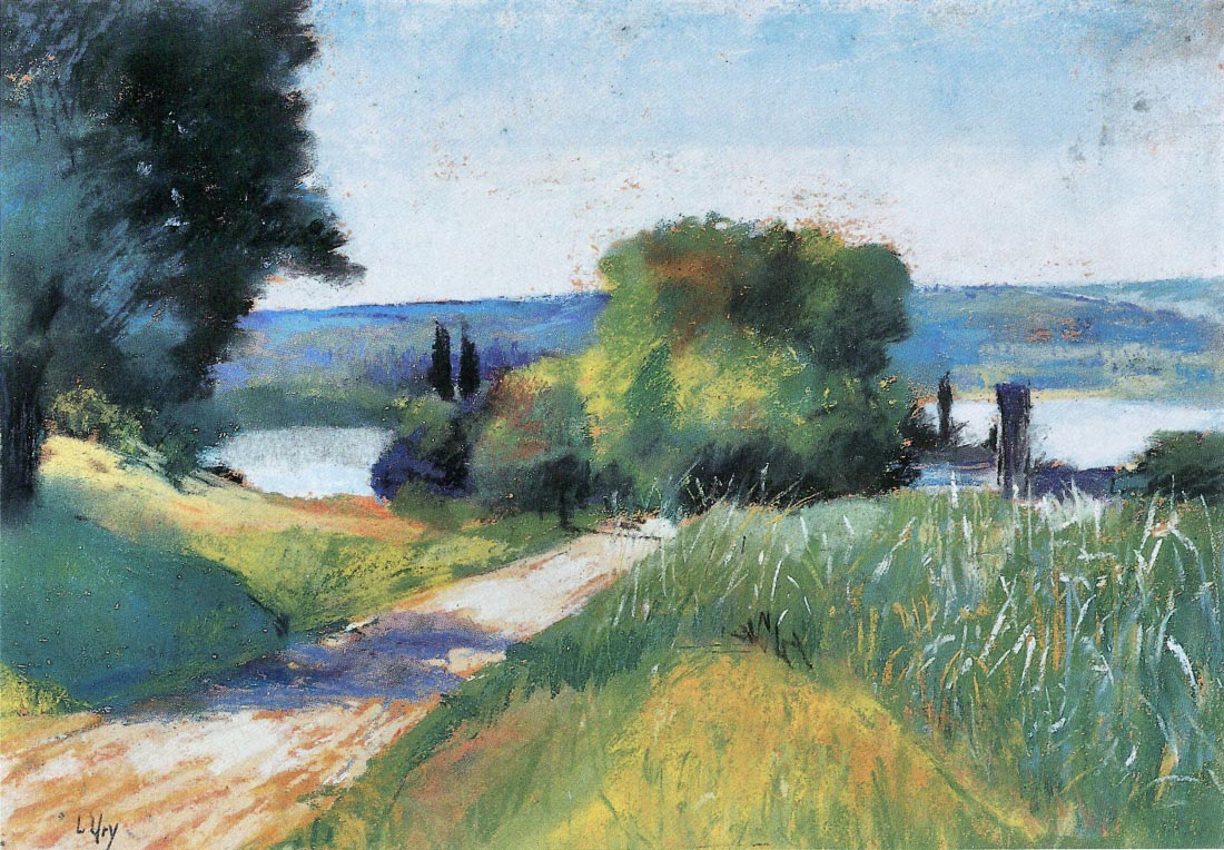 Sea and Landscape - Lesser Ury