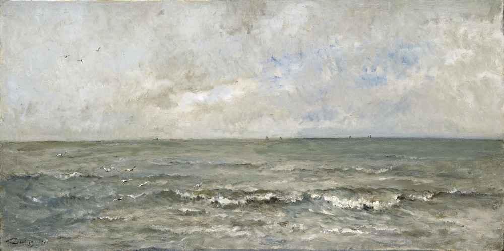 Seascape - Charles-Francois Daubigny