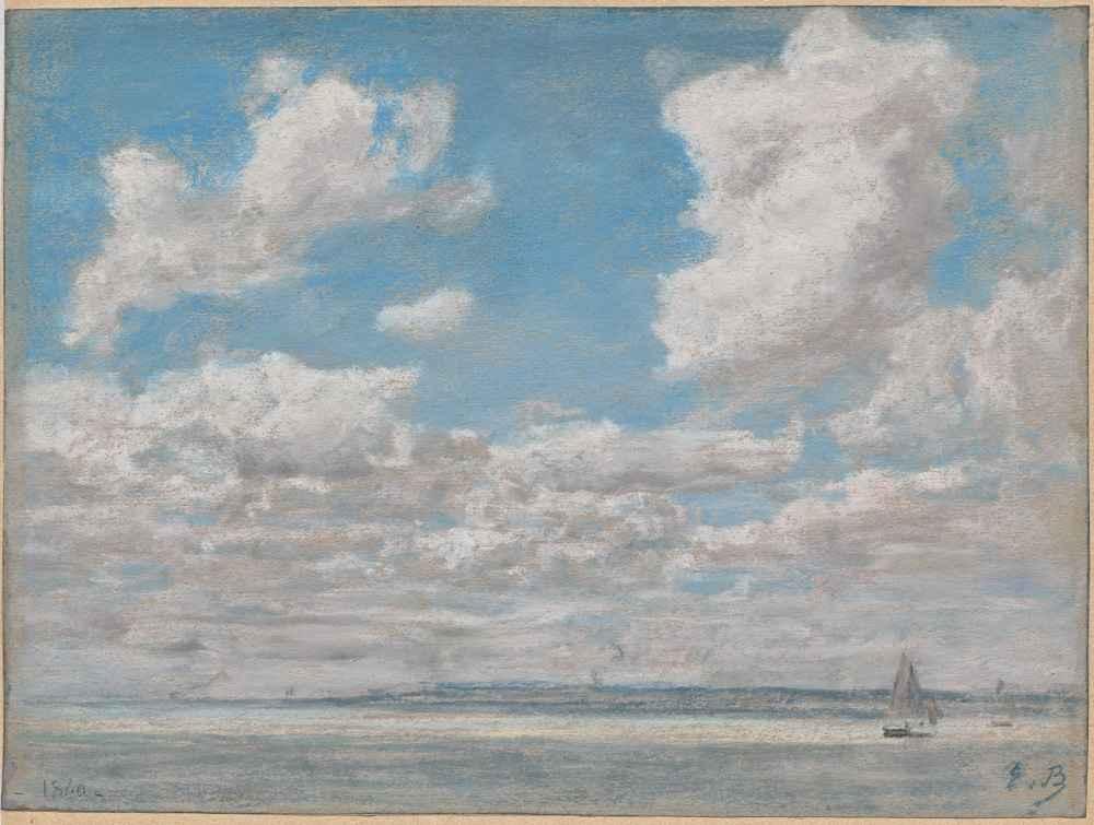 Seascape with Open Sky - Eugene Boudin