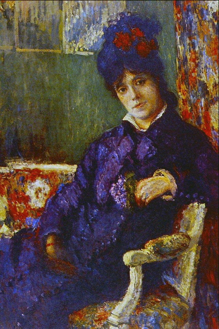 Seated Woman - Cassatt