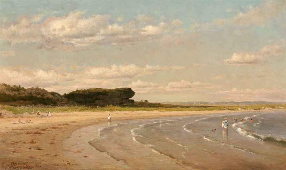 Second Beach, Newport - Worthington Whittredge