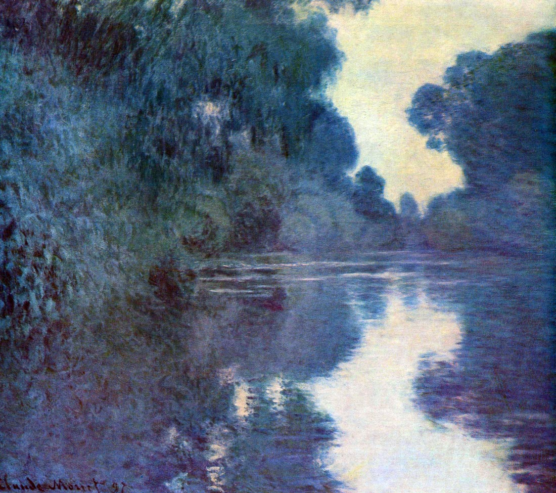Seine bend in Giverny - Monet