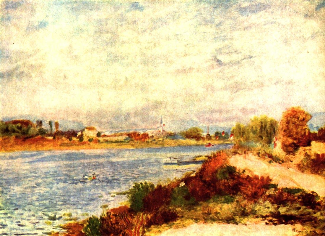 Seine in Argenteuil - Renoir