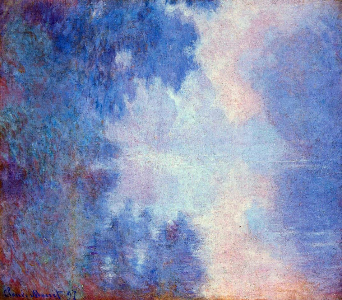 Seine in Morning - Monet