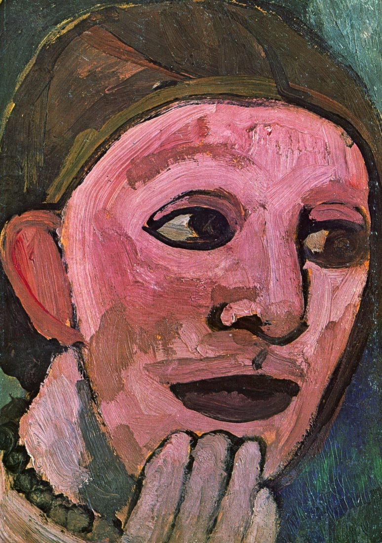Self Portrain - Modersohn-Becker