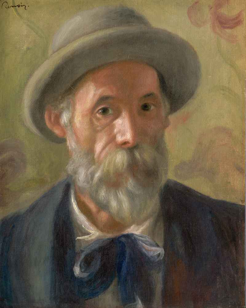 Self-Portrait, 1899 - Auguste Renoir