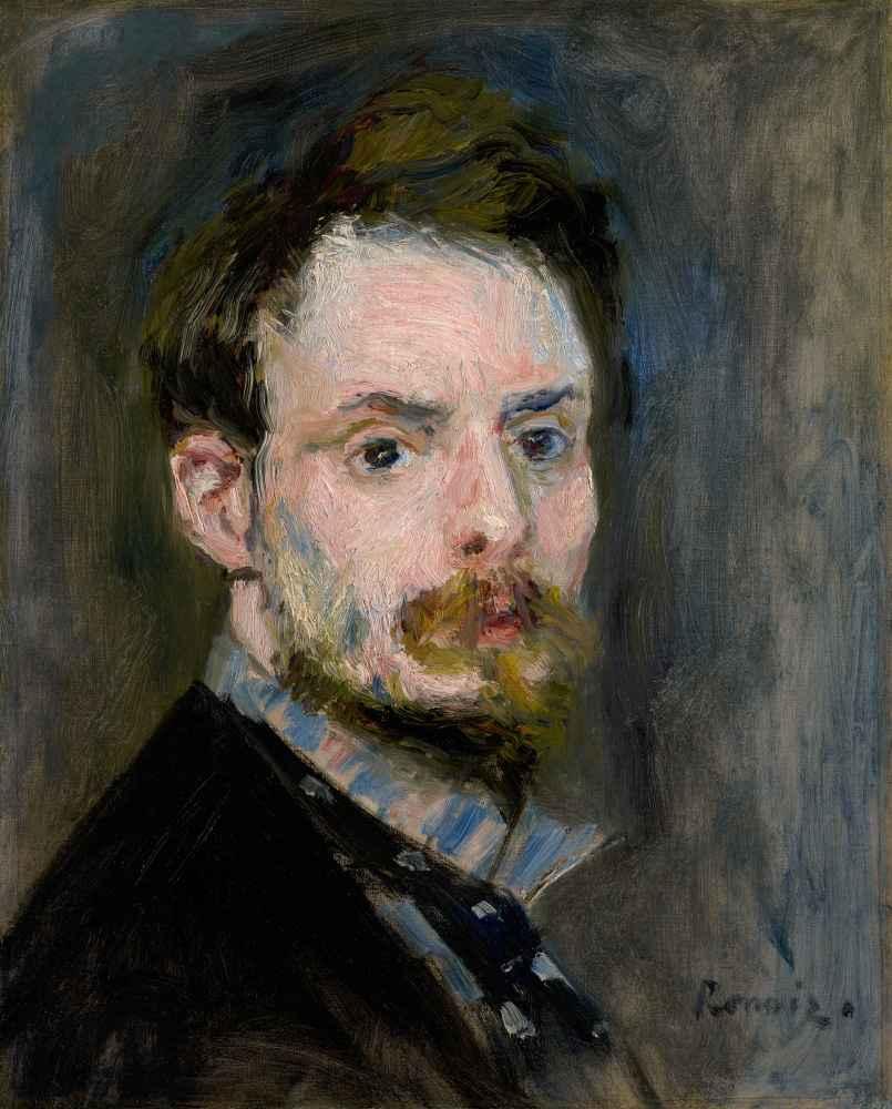 Self-Portrait, c. 1875 - Auguste Renoir