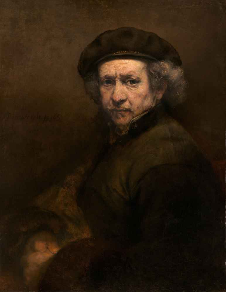Self-Portrait 1659 - Rembrandt Harmenszoon van Rijn