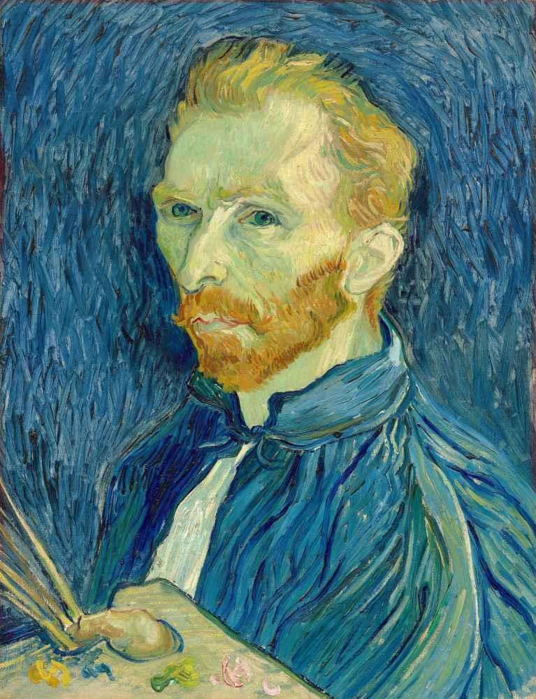 Self-Portrait 1889 - Vincent van Gogh