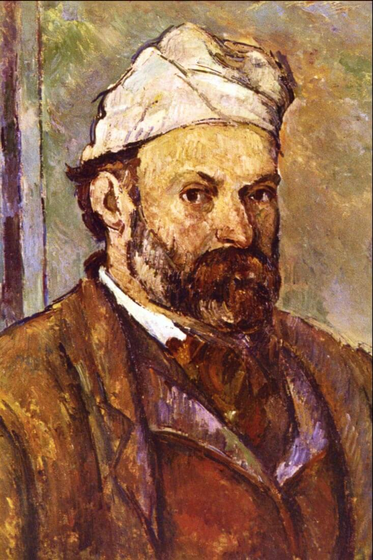 Self Portrait 2 - Cezanne