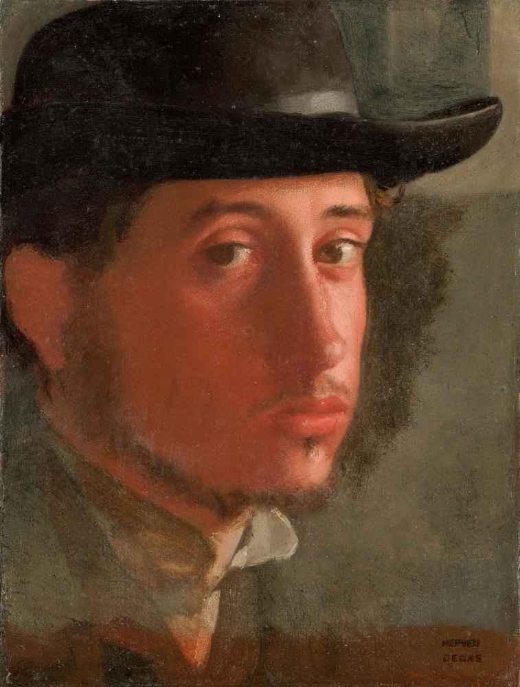 Self-Portrait 2 - Edgar Degas