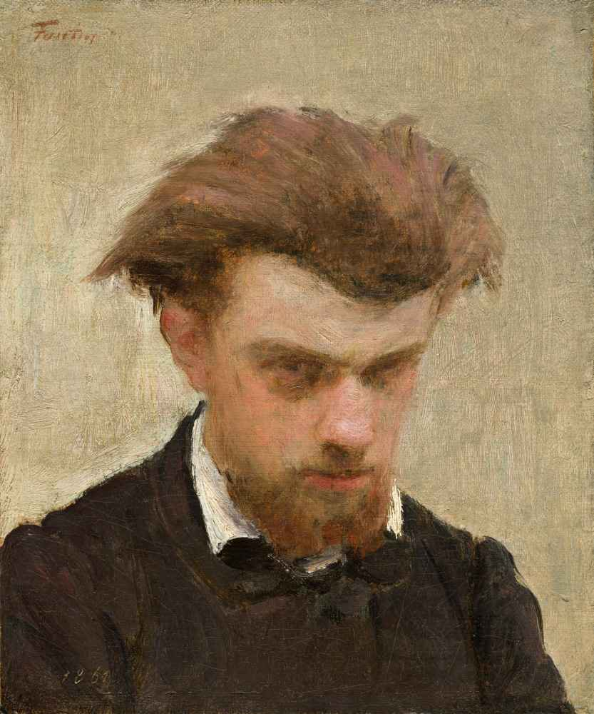 Self-Portrait 2 - Henri Fantin-Latour