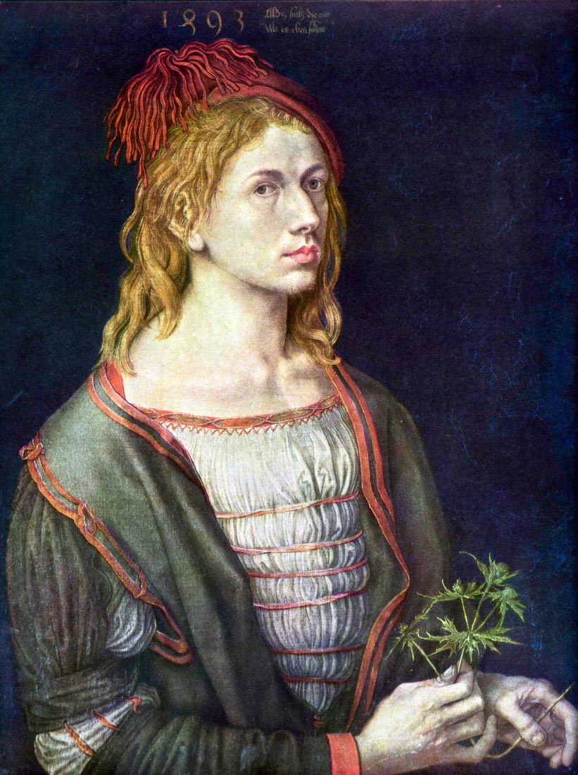 Self Portrait 3 - Durer