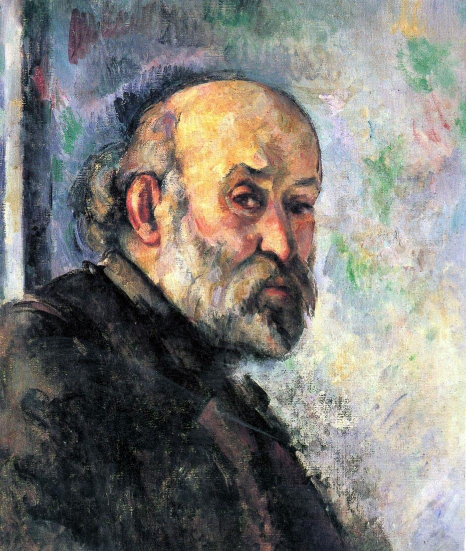 Self Portrait #4 - Cezanne