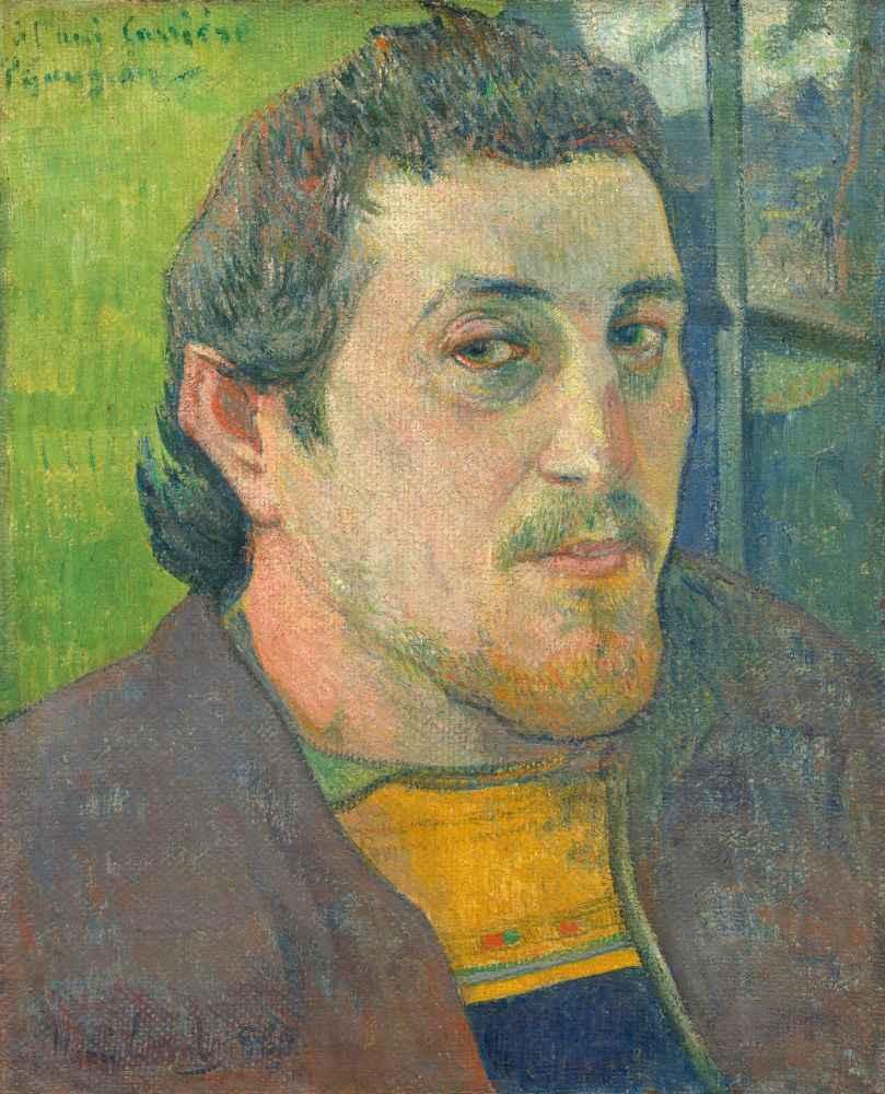 Self-Portrait Dedicated to Carrière - Paul Gauguin
