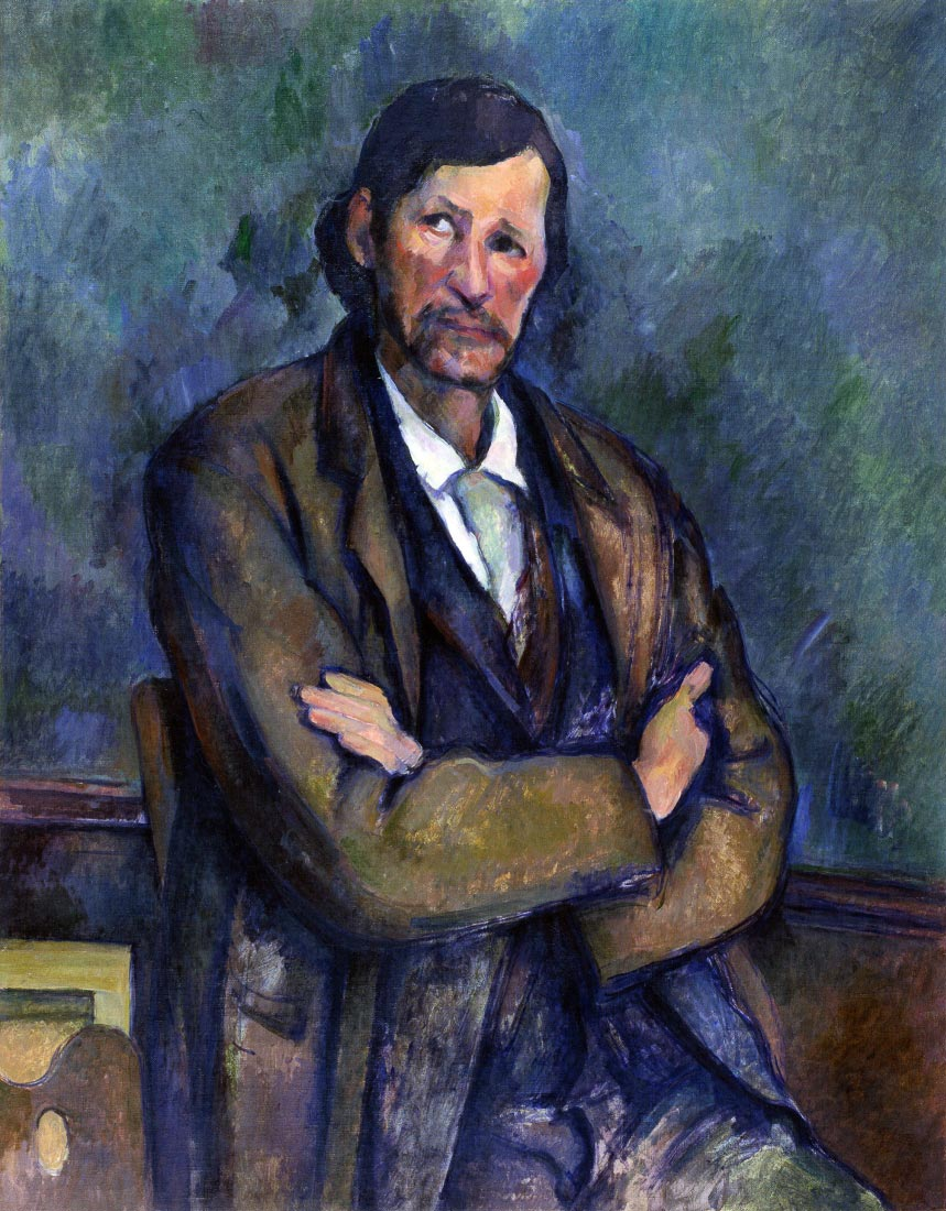 Self Portrait - Cezanne
