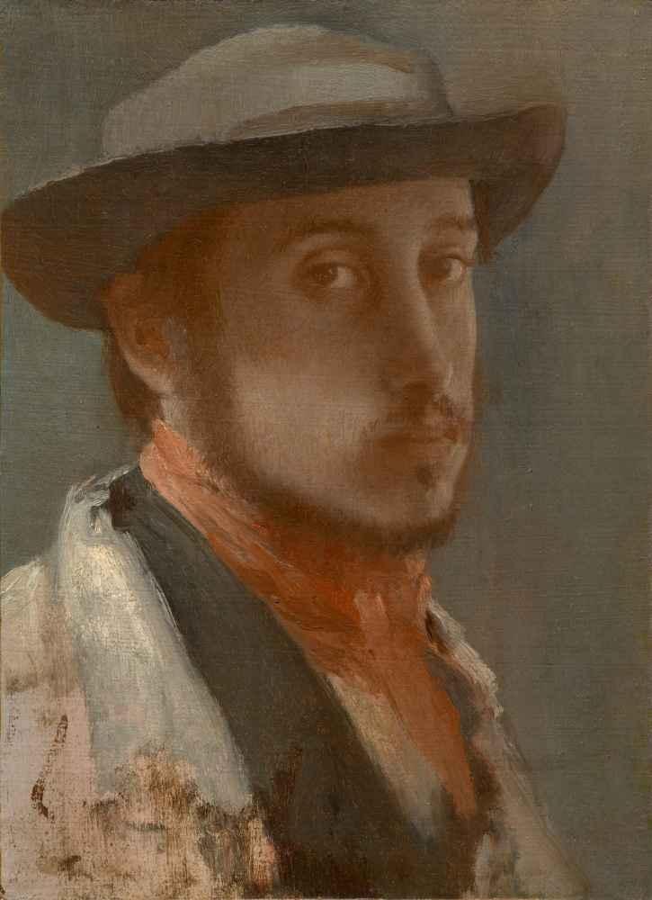 Self-Portrait - Edgar Degas