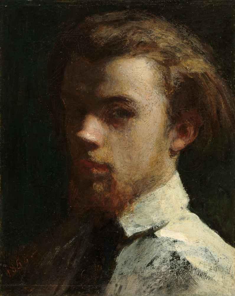 Self-Portrait - Henri Fantin-Latour