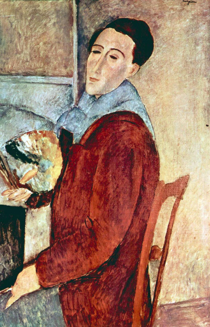 Self Portrait - Modigliani