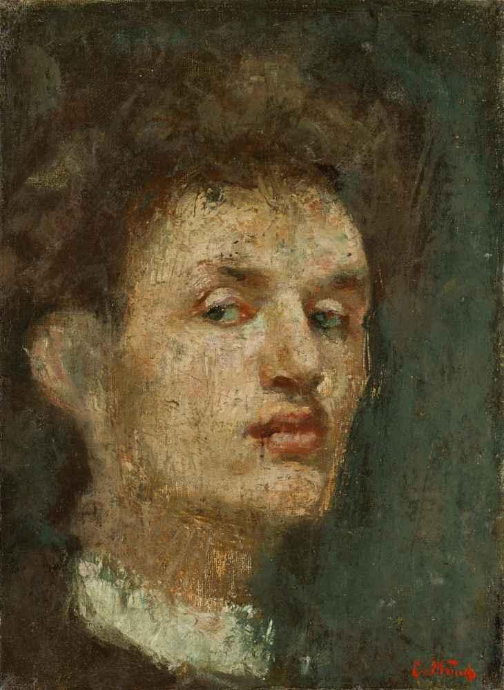 Self-Portrait - Edward Munch