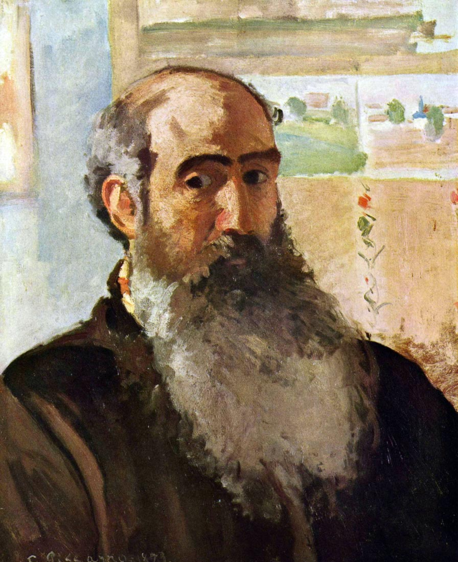 Self Portrait - Pissarro