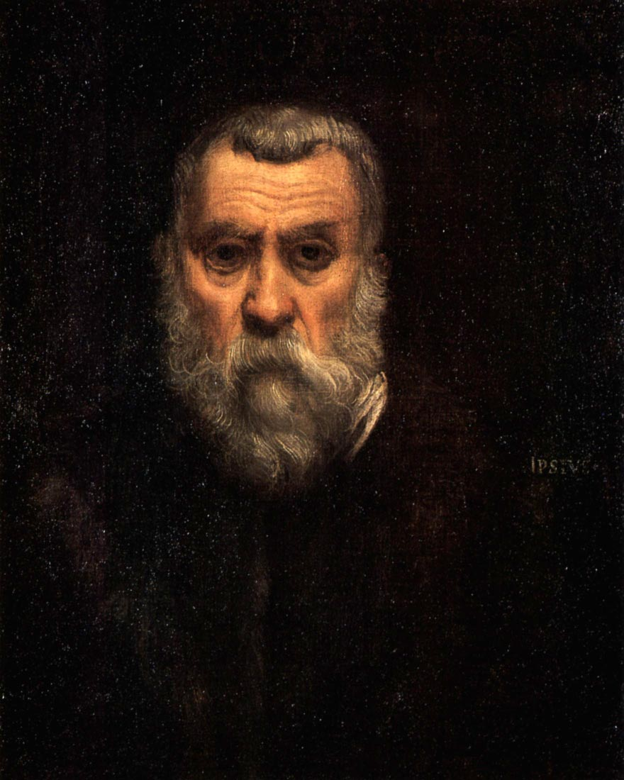 Self Portrait - Tintoretto