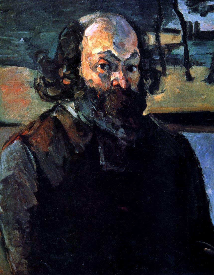 Self Portrait of Cezanne - Cezanne