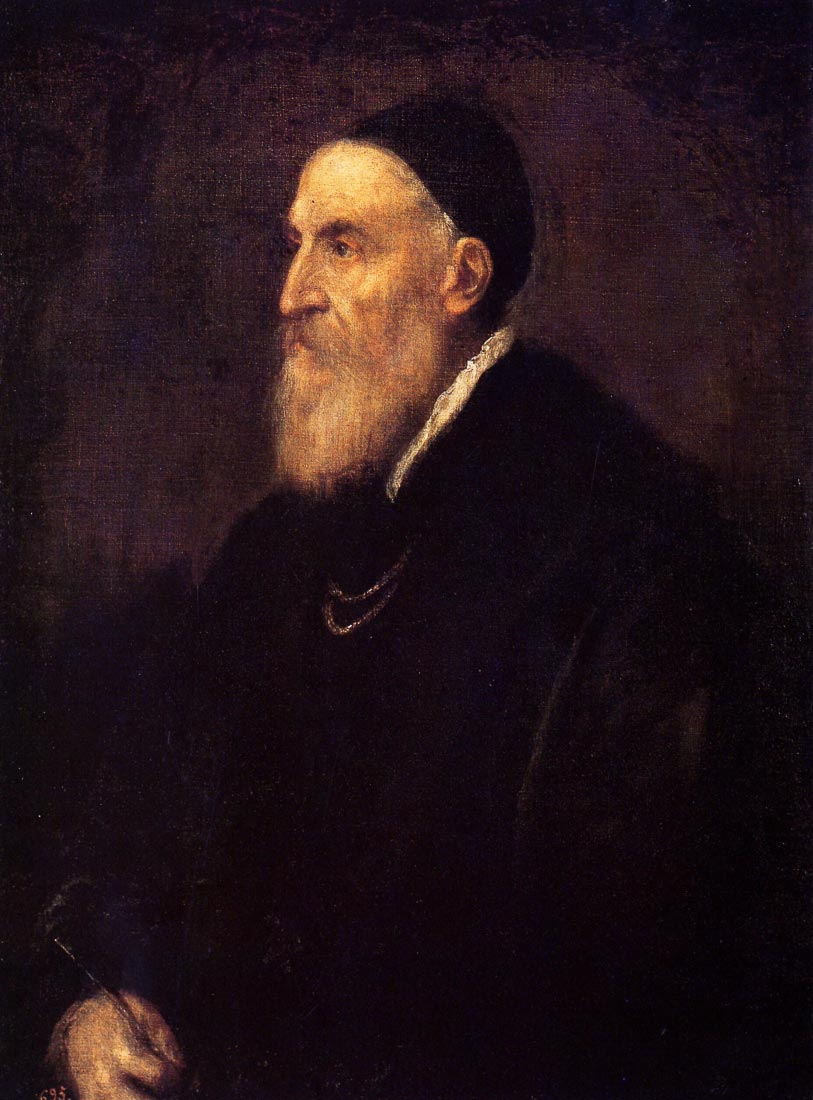 Self-portrait 1 1570 - Titian