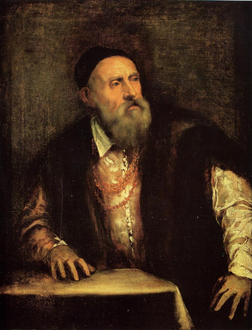 Self-portrait 2 1570 - Titian