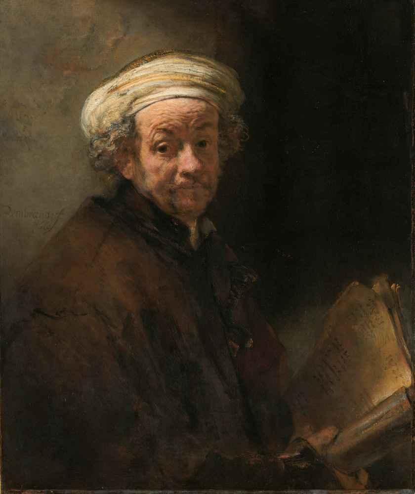 Self-portrait as the Apostle Paul 1661 - Rembrandt Harmenszoon van Rijn