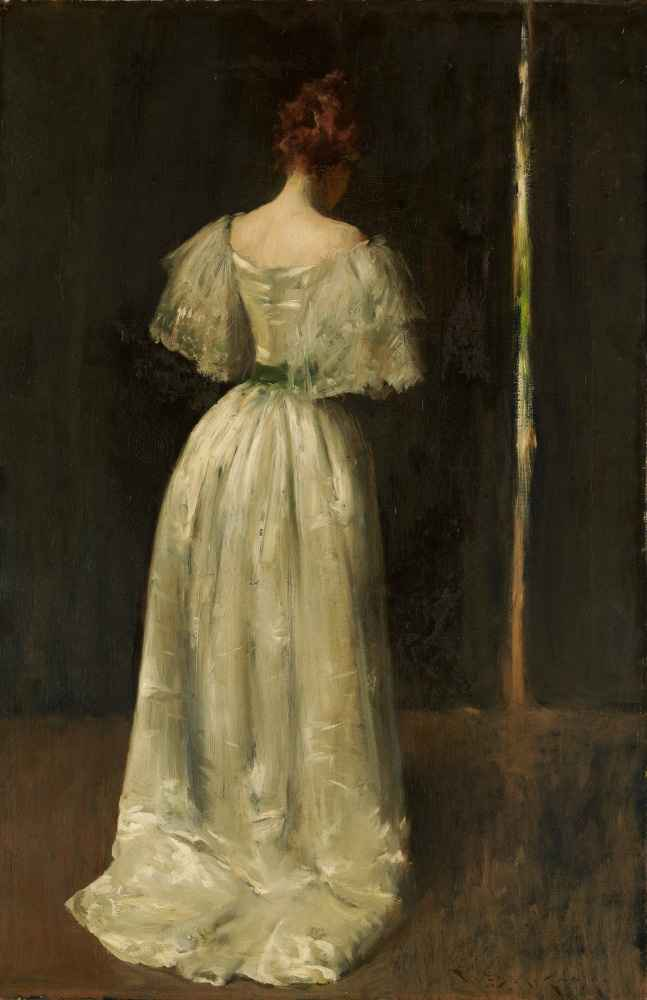 Seventeenth Century Lady - William Merritt Chase